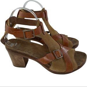 Dansko Brown Suede Leather Sandal 40 (9.5-10)